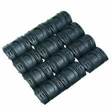 12 PC Universal 20mm Weaver Picatinny Rubber Rail Covers Hand Guard
