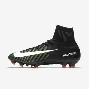 b990c1a2818488 ... best price image is loading nike mercurial superfly v df fg black white  d4ecb eef0d