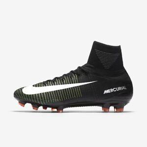05b9264902a0 Nike Mercurial Superfly V DF FG Black White Soccer Cleats 11 831940 ...