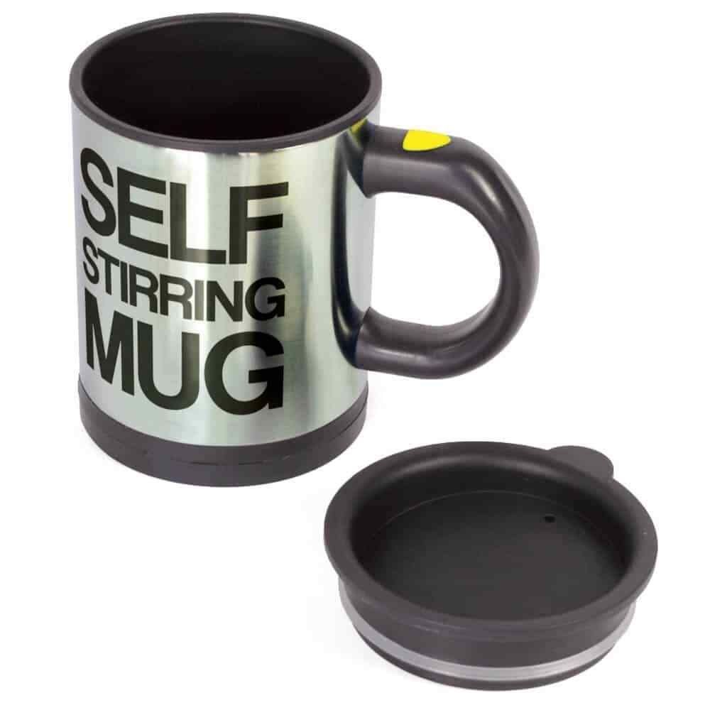 400ml Magnetic Coffee Cup Mixing Cup Self Stirring 11*9.2*13.5cm Mug