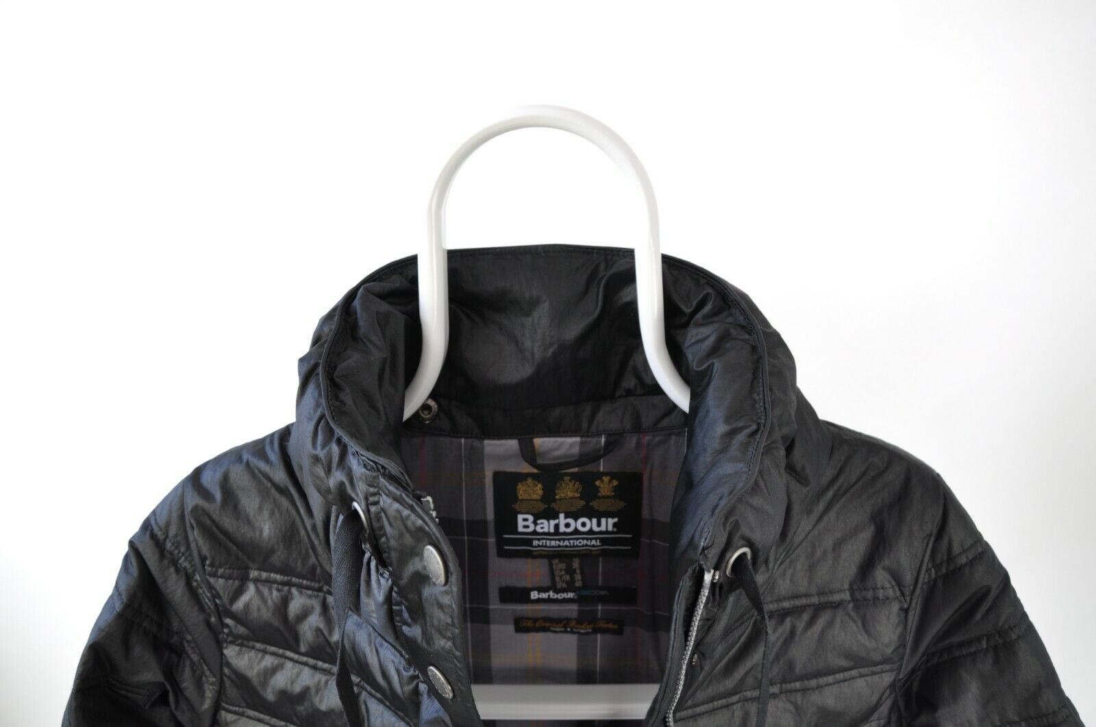 WOMENS BARBOUR INTERNATIONAL 'CROWN' QUILTED PUFF… - image 11