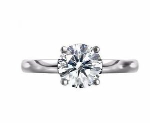 Round-Cut-Solitaire-CZ-925-Sterling-Silver-Engagement-Ring-White-Brilliant-CZ