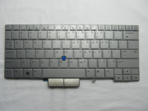 90/% New US silver keyboard for HP EliteBook 2740p With Mouse Point
