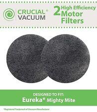 2 Eureka Vacuum MM Motor Filters Fit Mighty Mite & Sanitaire Models 3600 # 38333