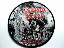 bastard priest under the hammer of destruction  WOVEN PATCH