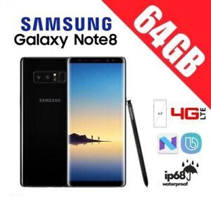 SAMSUNG-GALAXY-NOTE-8-N950-64GB-ORIGINAL-LIBRE-NEGRO-GARANTIA-CAJA-ACCESORIOS