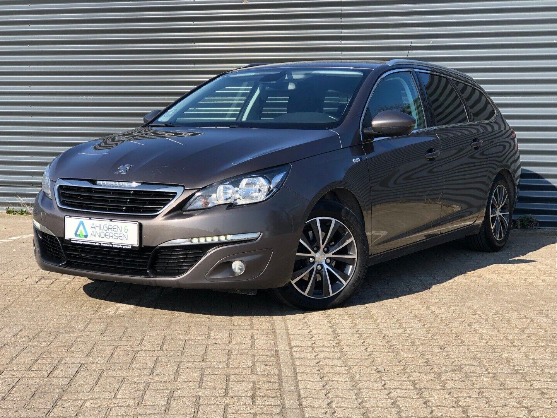 Peugeot 308 1,6 BlueHDi 120 Style SW 5d