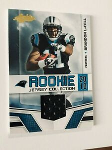 2010 ABSOLUTE FOOTBALL No.5 BRANDON LaFELL ROOKIE JERSEY PANTHERS ...