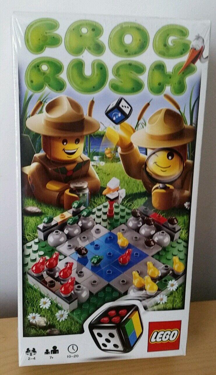 Lego 3854 FROG RUSH Jeu  NEUF  cadeau de Noël actuel du Conseil de voyage Jouet Garçon Fille | Exquise (in) De Fabrication