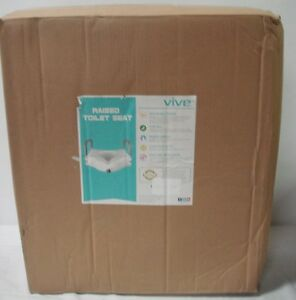 Raised Toilet Seat By Vive Portable Elevated Riser 5 Quot With