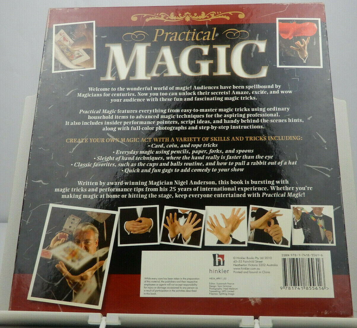 Practical Magic Mystify And Entertain With Illusion And Trickery 8 Books In One For Sale Online Ebay