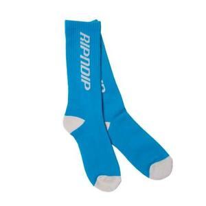Genuine Rip N Dip Nerm Fast Socks - Blue / White (One Size)