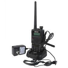 New Walkie-Talkie Retevis RT5 Dual Band UHF+VHF 8W 128CH 1750Hz Two Way FM Radio