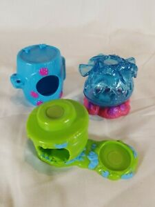 Lot-Of-3-Sega-Spin-Master-Zoobles-Habitats-2010-Toys