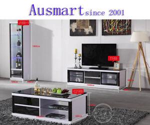 1-5m-Gloss-black-white-TV-stand-free-postage-to-melb-metro