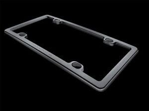 Aluminum License Plate Frame >> Weathertech Billet Aluminum License Plate Frame For Cars Black
