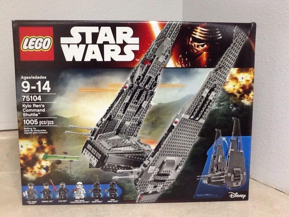 Lego estrella guerras  Kylo Rens Comuomod Shuttle 75104 With 6 Minifigs  ordina ora i prezzi più bassi