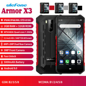 Global-Ulefone-Armor-X3-5-5-034-Mobile-Phone-Android-9-0-2G-32GB-5000mAh