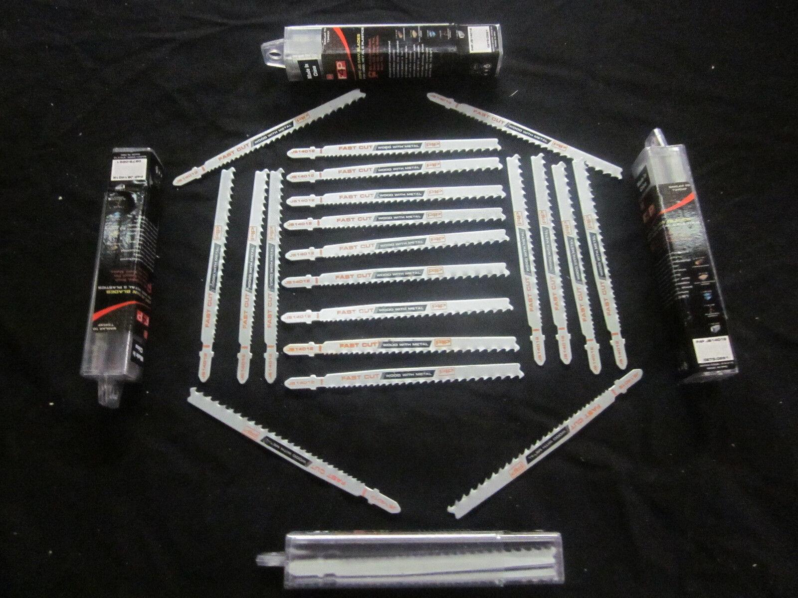 F4P  100  5-1 4  T-SHANK JIGSAW BLADES ALL PURPOSE BOSCH TYPE T345XF BI-METAL