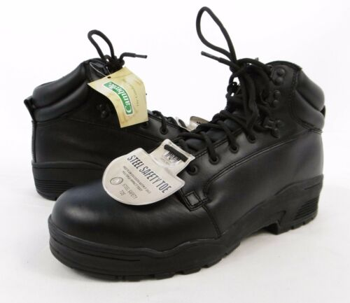 Magnum Patrol ST S3 Leather Anti-Slip Steel Toe Cap Safety Boots UK 13 A6 SF2