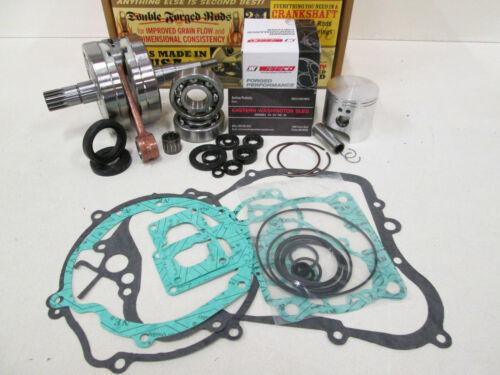 GASKETS 2006-2013 PISTON KAWASAKI KX 85 ENGINE REBUILD KIT HOT RODS CRANKSHAFT