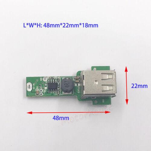 Dual USB DC-DC Buck Step Down Converter 6V-20V 12V To 5V 3A Phone Charger Module