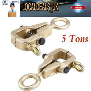 5 Ton Two-Way Self-Tightening Pull Clamp Grip Auto Frame Body Puller Repair Tool