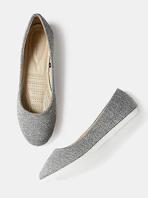 Mast & Harbour Women Solid Flat Shoes (FLAT 50% OFF) -DJB