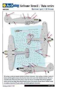 Hurricane-Nightfighters-Airframe-Stencil-Data-1-72-scale-Aviaeology-Decals