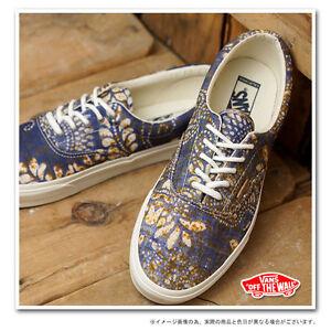 ea7b6550900ce9 Vans Era CA Batik Indigo Dress Blues Men s Classic Skate Shoes Size ...