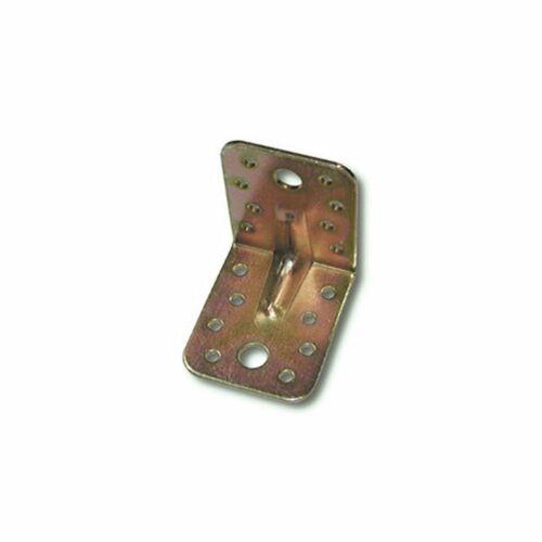 hohe Winkelverbinder mit Steg 55x65x65x2.5 mm Stahl verzinkt