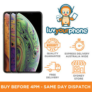 Apple-iPhone-XS-A2097-64-256-512GB-All-Colours-4G-Unlocked-Smartphone-AU-Model