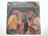 THE BEE GEES HERE AT LAST BEE GEES LIVE VOL 1 RARE LP record vinyl INDIA INDIAN
