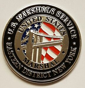 Details about USMS United States Marshals Service Eastern District of New  York BROOKLYN 1 75