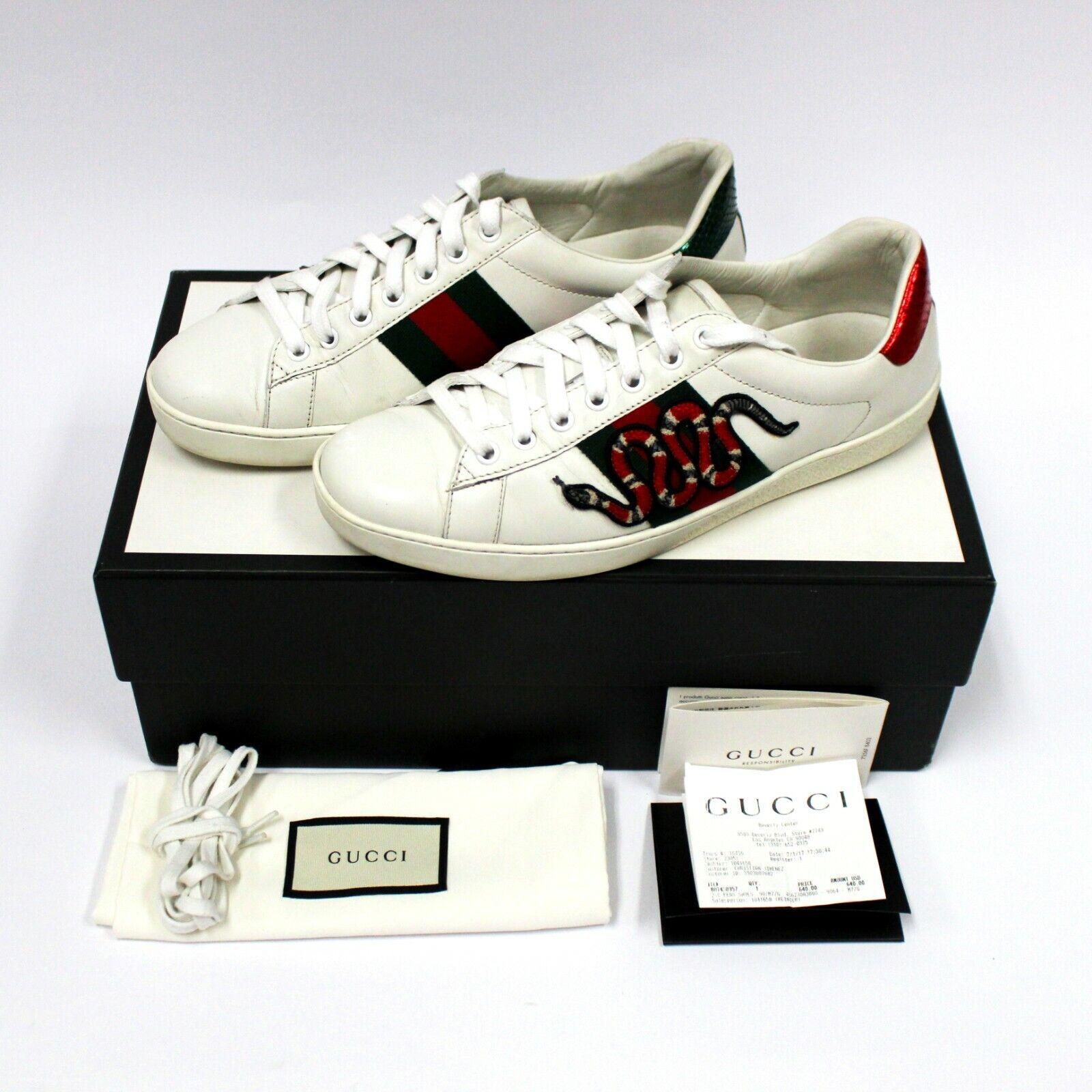 Gucci Ace купить на eBay в Америке, лот