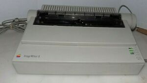 APPLE-ImageWriter-II-A9M0320-DOT-MATRIX-PRINTER-FOR-APPLE-IIGS-APPLE-II-WORKS
