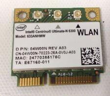 Intel Centrino Ultimate-N 6300 633ANHMW 04W00N REV A03 WLAN WiFi Wireless Card