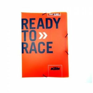 "Original KTM Folder /"" Ready to Race /"""