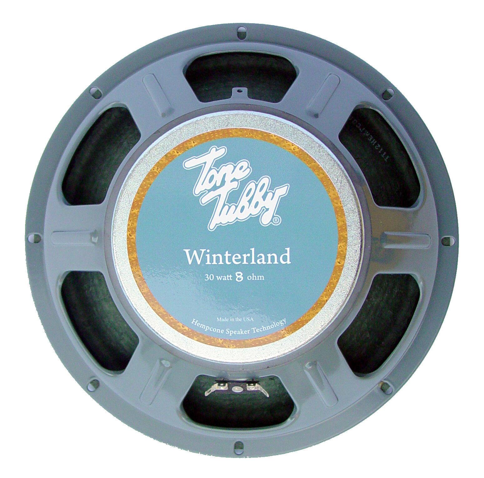 Tone Tubby 12  Winterland Ceramic Hemp Cone Guitar Speaker 8 ohm NEW + Warranty