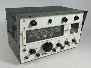 Clegg Zeus Vintage Ham Radio Transmitter Untested No Power Supply Included Ebay