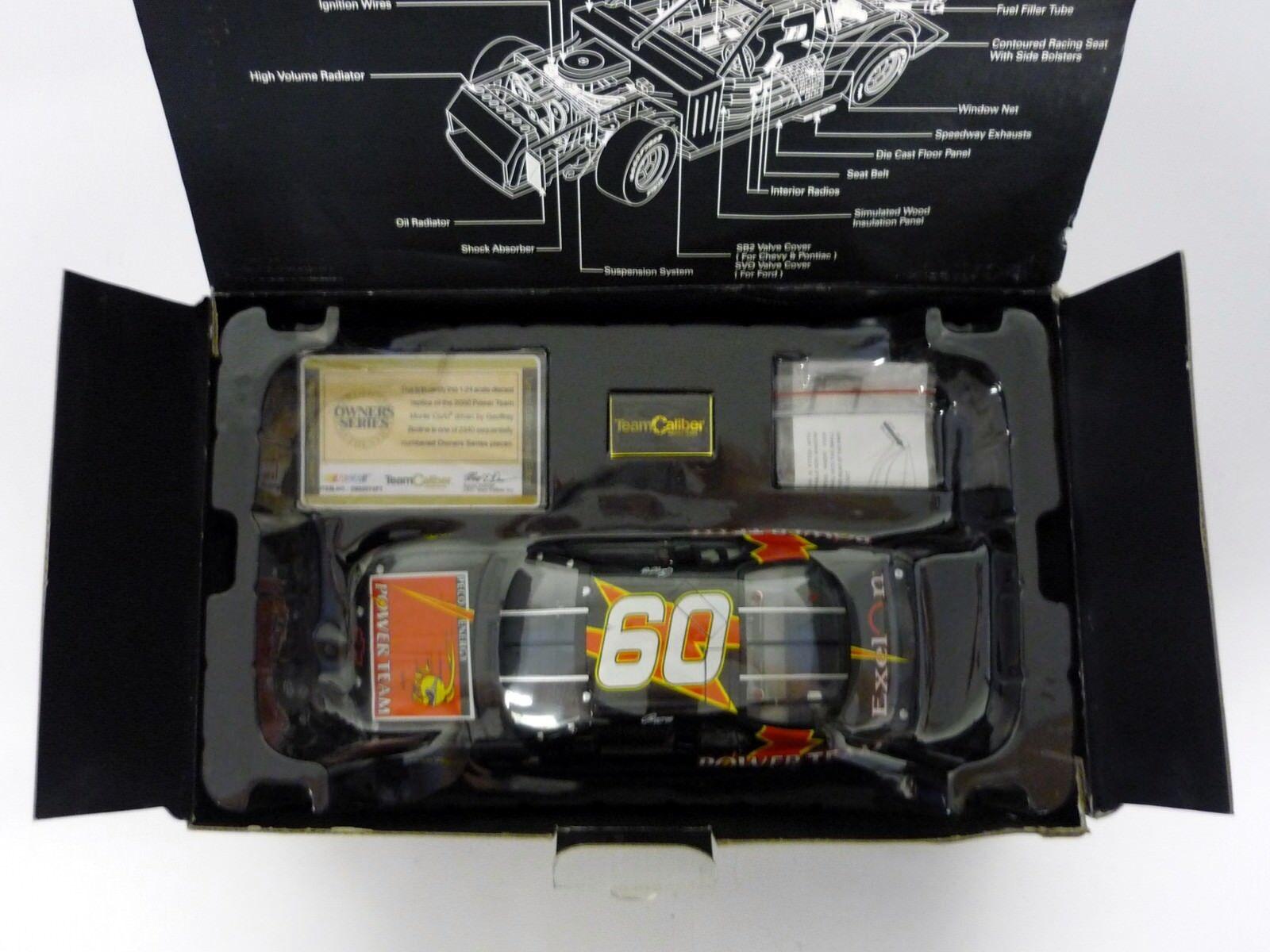 TEAM CALIBER NASCAR Peco Energy Energy Energy 1 24 Die-Cast Car Geoffrey Bodine MIB 2000 9832c1