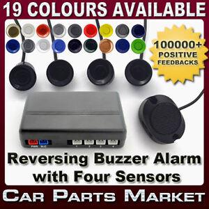 REVERSING-PARKING-SYSTEM-KIT-4-REVERSE-SENSORS-BUZZER-ALARM-24h-DISPATCH