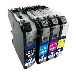 4-CARTUCCE-COMPATIBILI-PER-BROTHER-LC-127XL-DCP-J4110DW-MFC-J4410-J4510-DW-J4610