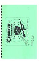 Crosman Model 107 108 Pellet Gun Service Manual