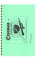 Crosman Model 107 108 Pellet Gun Service Manual