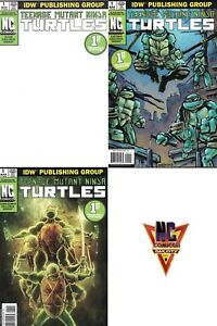 Teenage-Mutant-Ninja-Turtles-1-NC-Comicon-Exclusive-Variant-Set-of-3-Blank-IDW