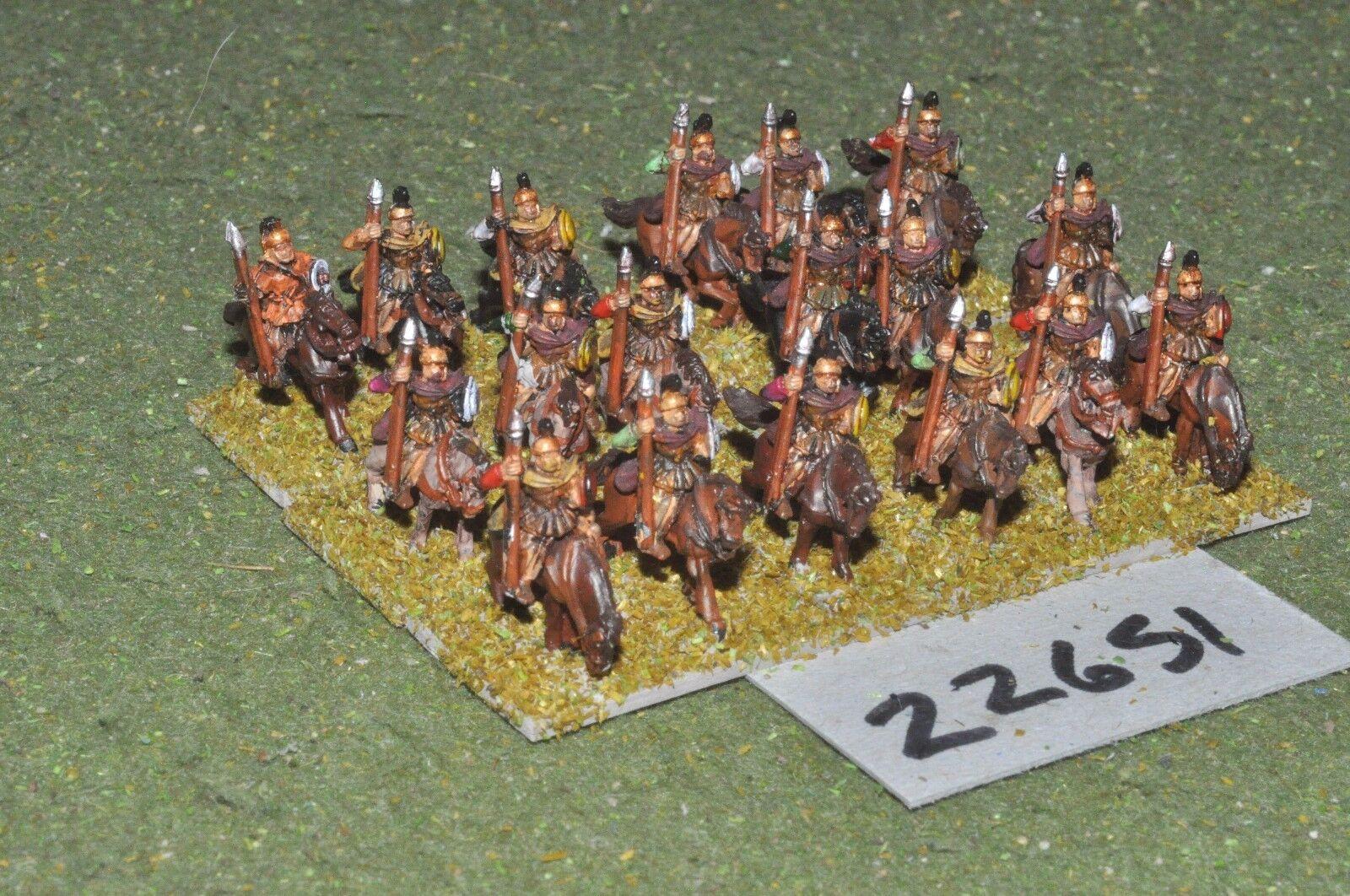 10mm römerzeit   spanische - schwere 18 zahlen - cav (22651)