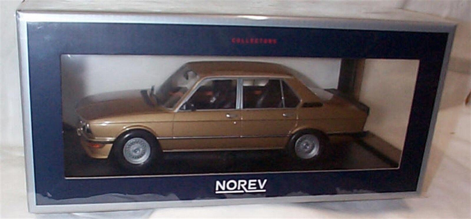 BMW M 535i 1980  in (environ 5029.20 cm) or échelle 1 18 nouveau in Box 183268  shopping en ligne
