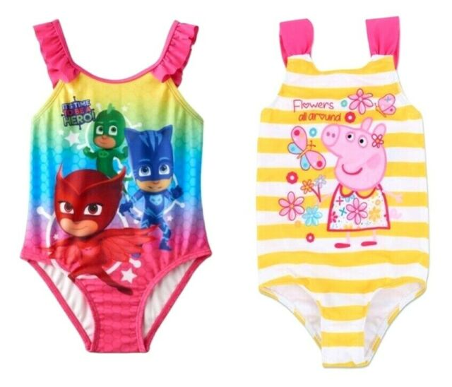 2T Peppa Pig One Piece Swimsuit New with Tags
