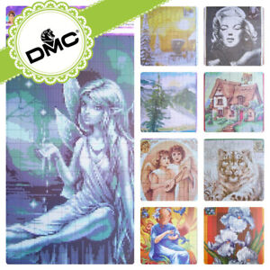 UZ-30-Cross-stitch-Religious-Flowers-Landscape-Patterns-Embroidery-DMC